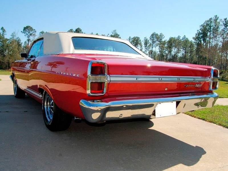 5th Image of a 1967 FORD FAIRLANE GT