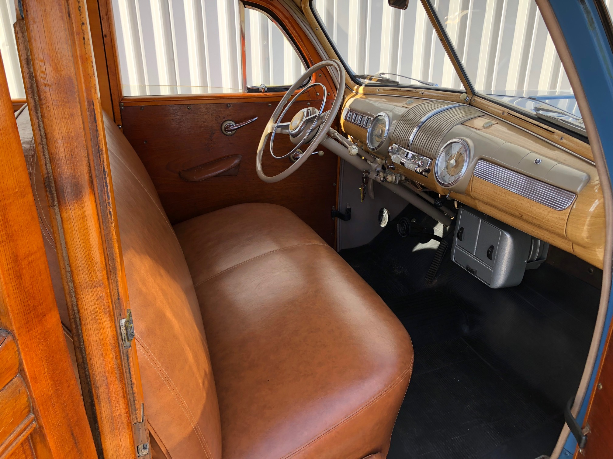6th Image of a 1947 FORD SUPER DELUXE WOODY