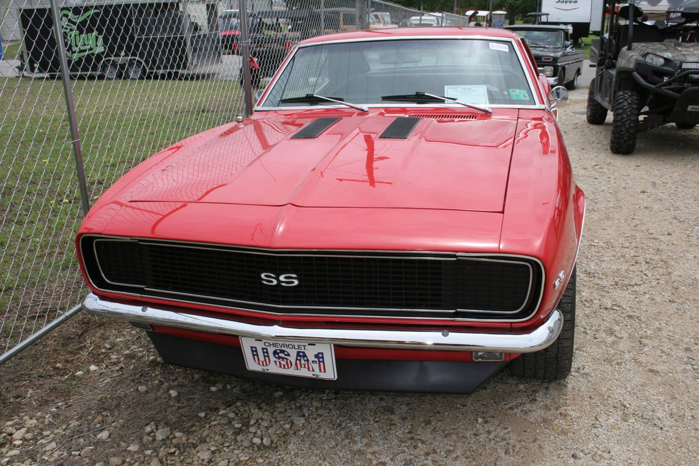 2nd Image of a 1967 CHEVROLET CAMARO RS