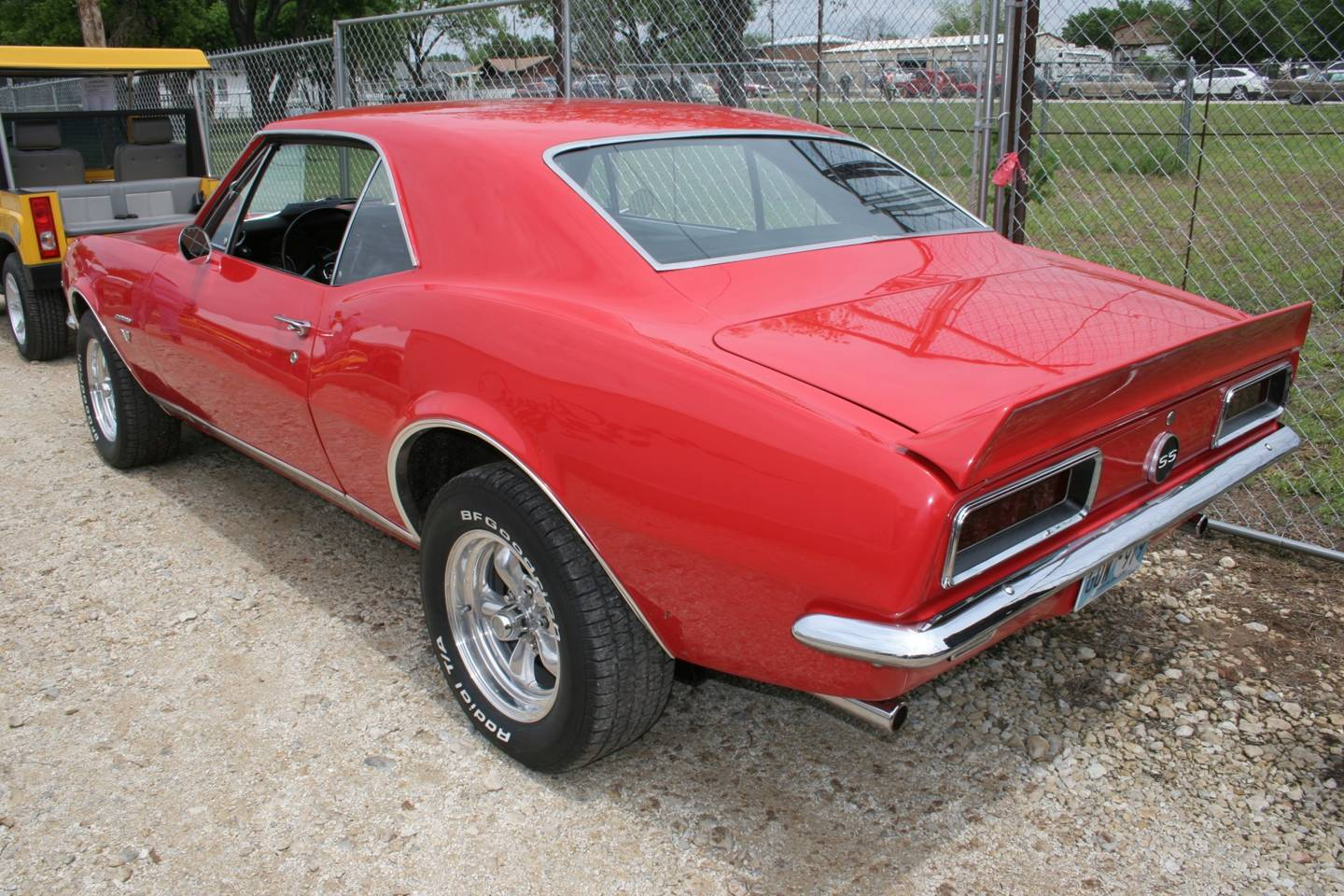 4th Image of a 1967 CHEVROLET CAMARO RS