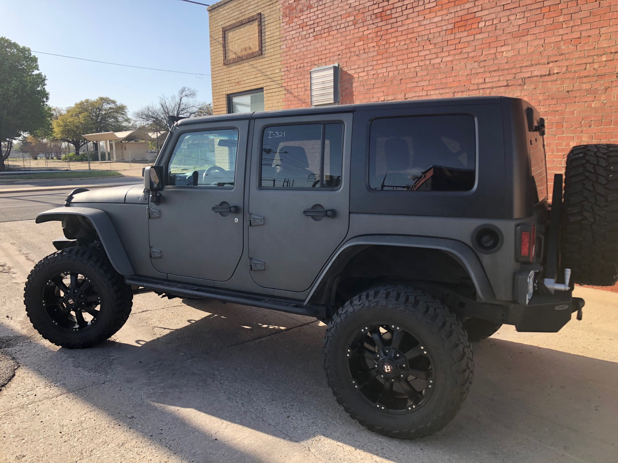 3rd Image of a 2007 JEEP WRANGLER UNLIMITED X