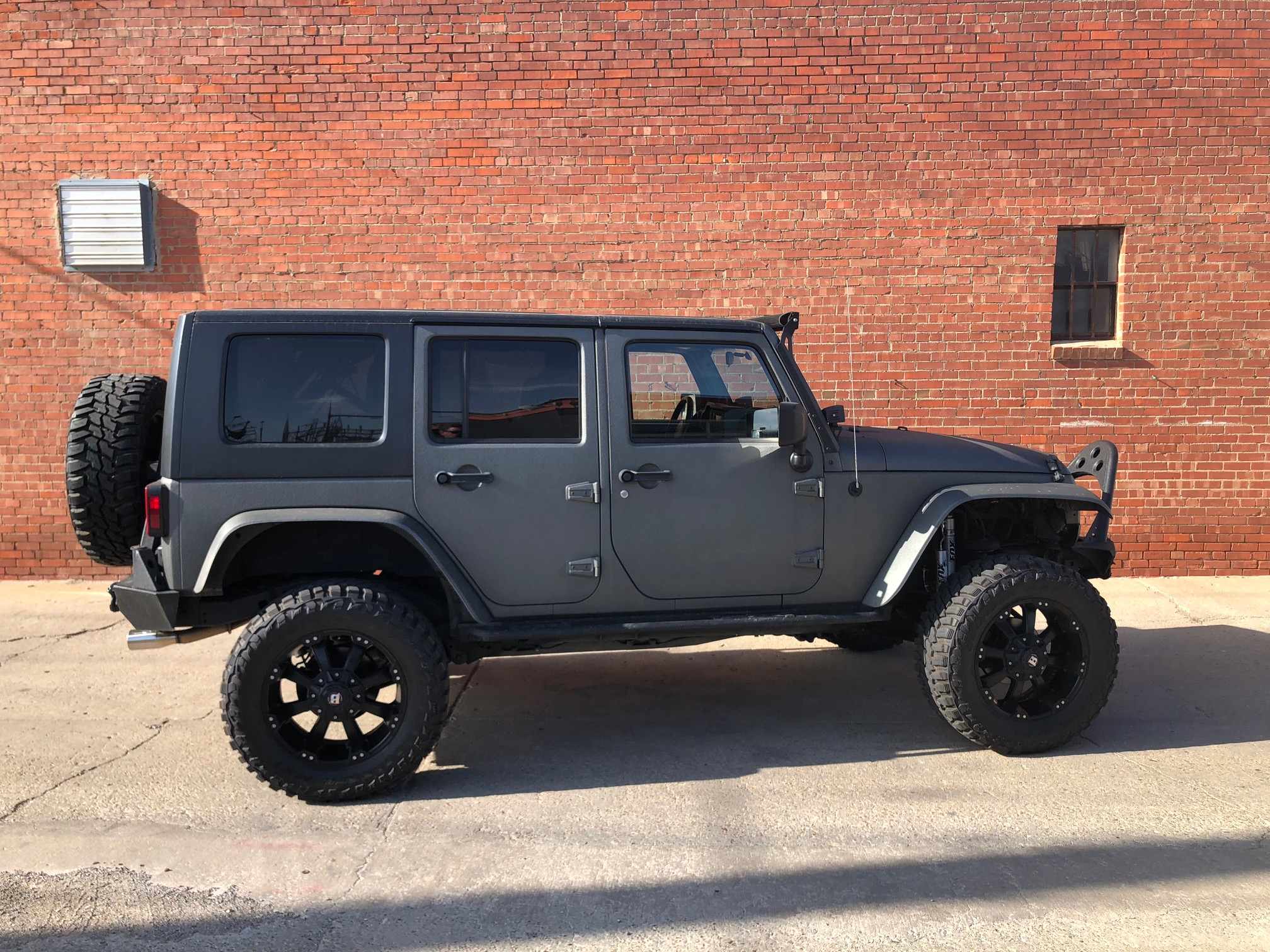4th Image of a 2007 JEEP WRANGLER UNLIMITED X
