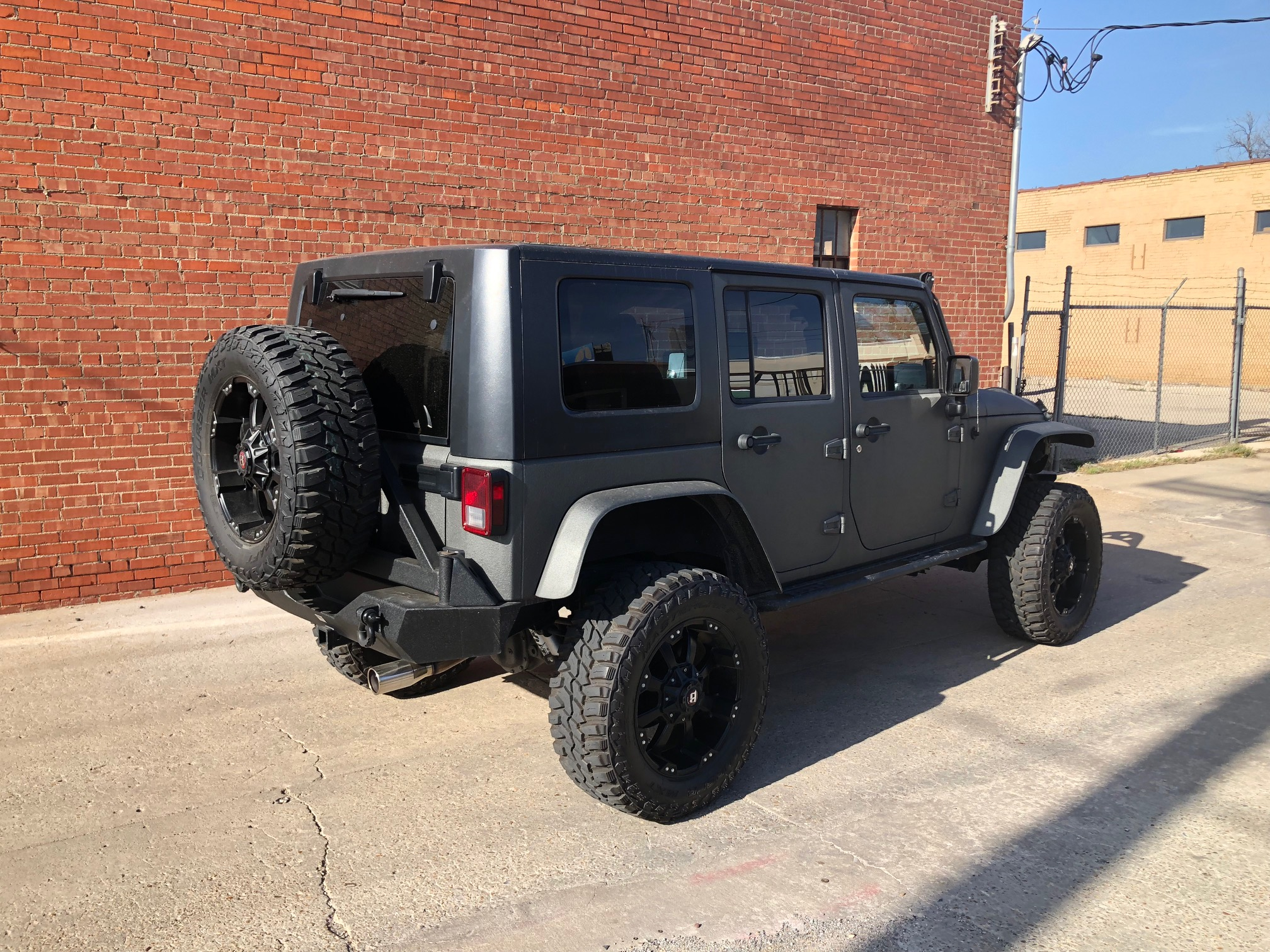 5th Image of a 2007 JEEP WRANGLER UNLIMITED X