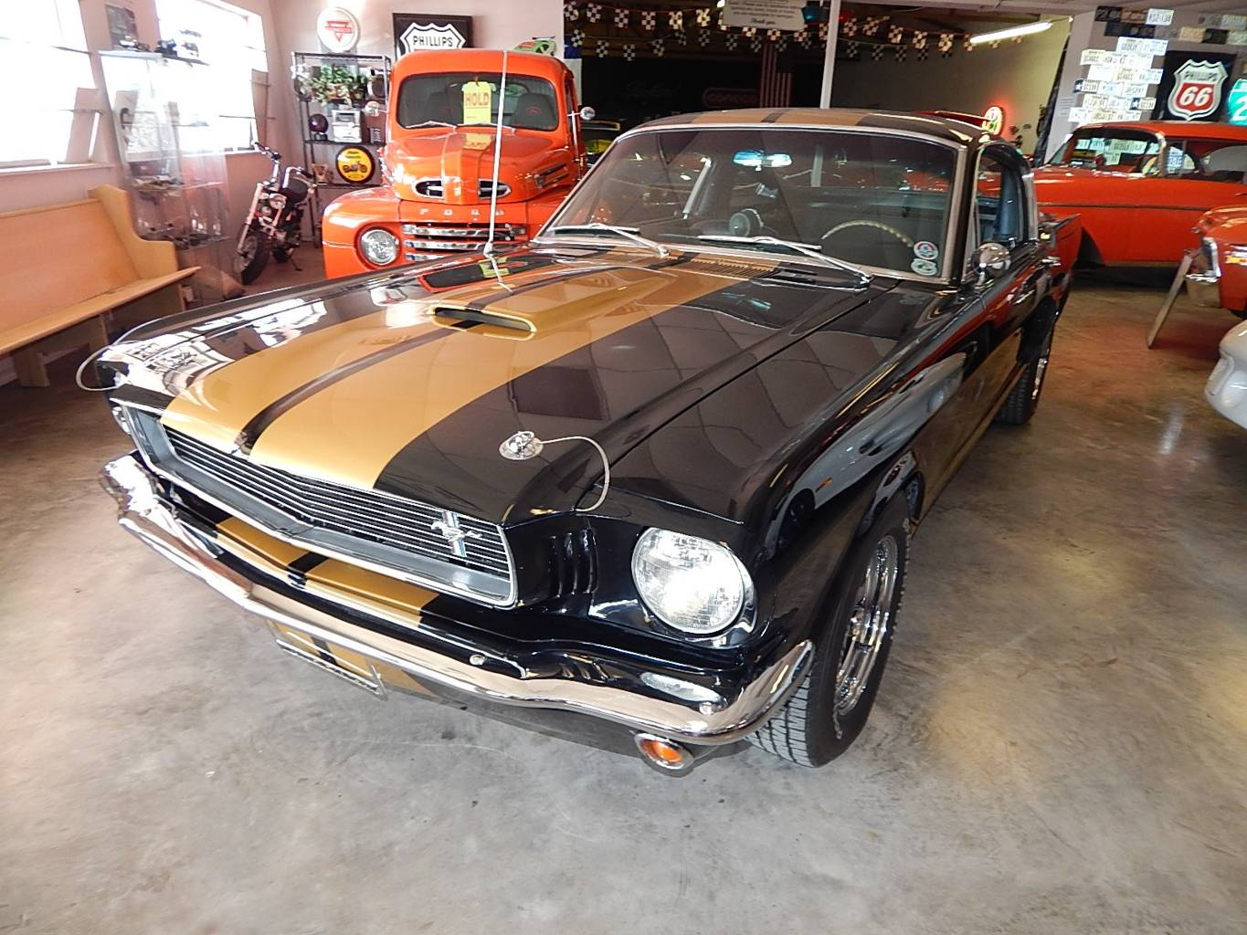 3rd Image of a 1966 FORD SHELBY GT350H