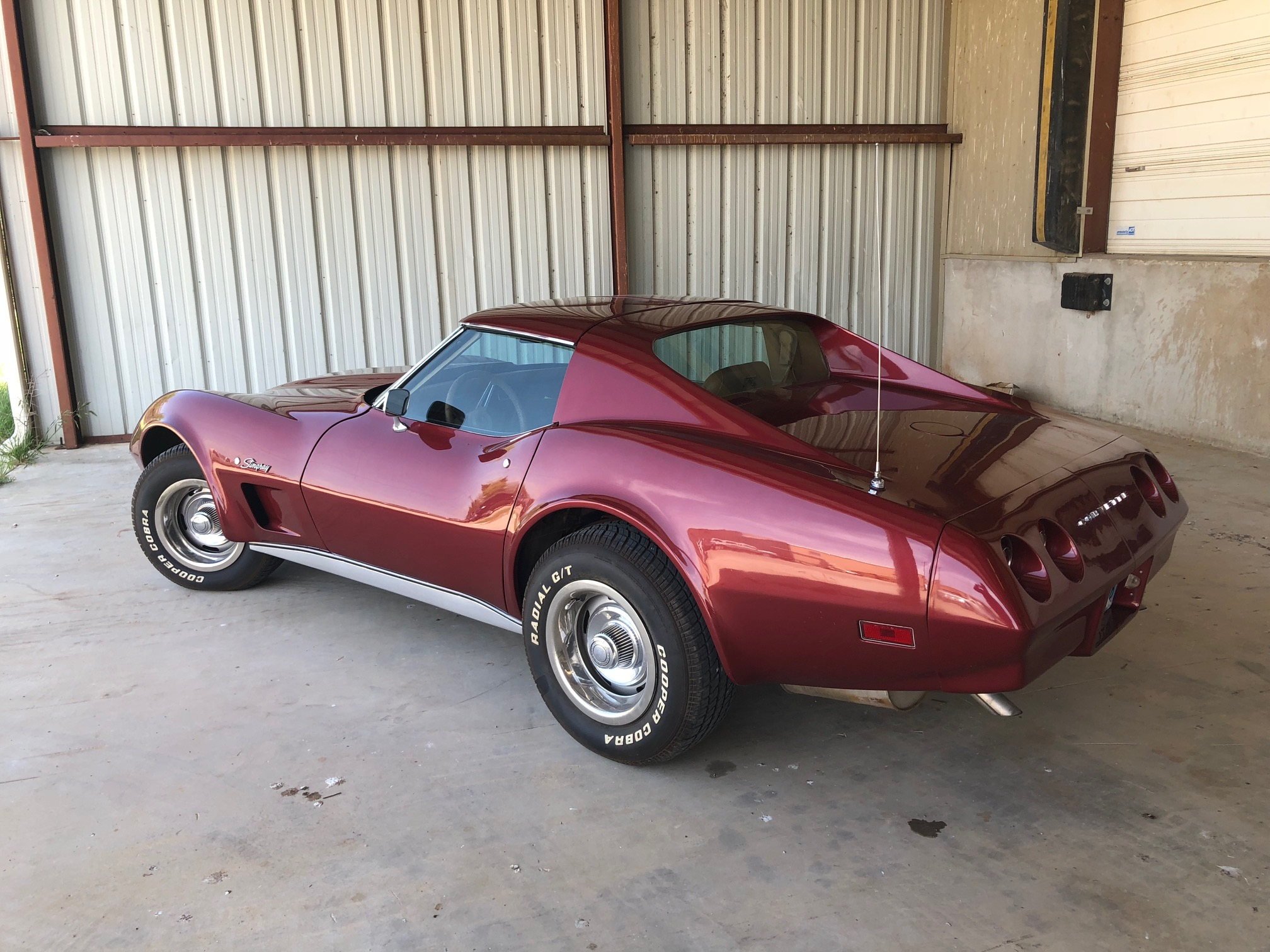 3rd Image of a 1974 CHEVROLET CORVETTE STINGRAY