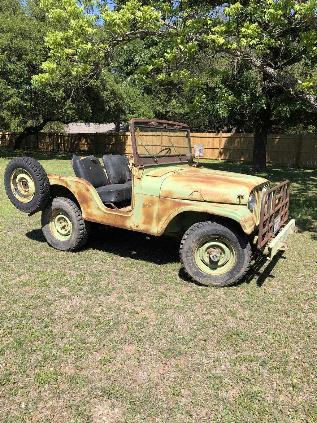 3rd Image of a 1955 JEEP WILLYS