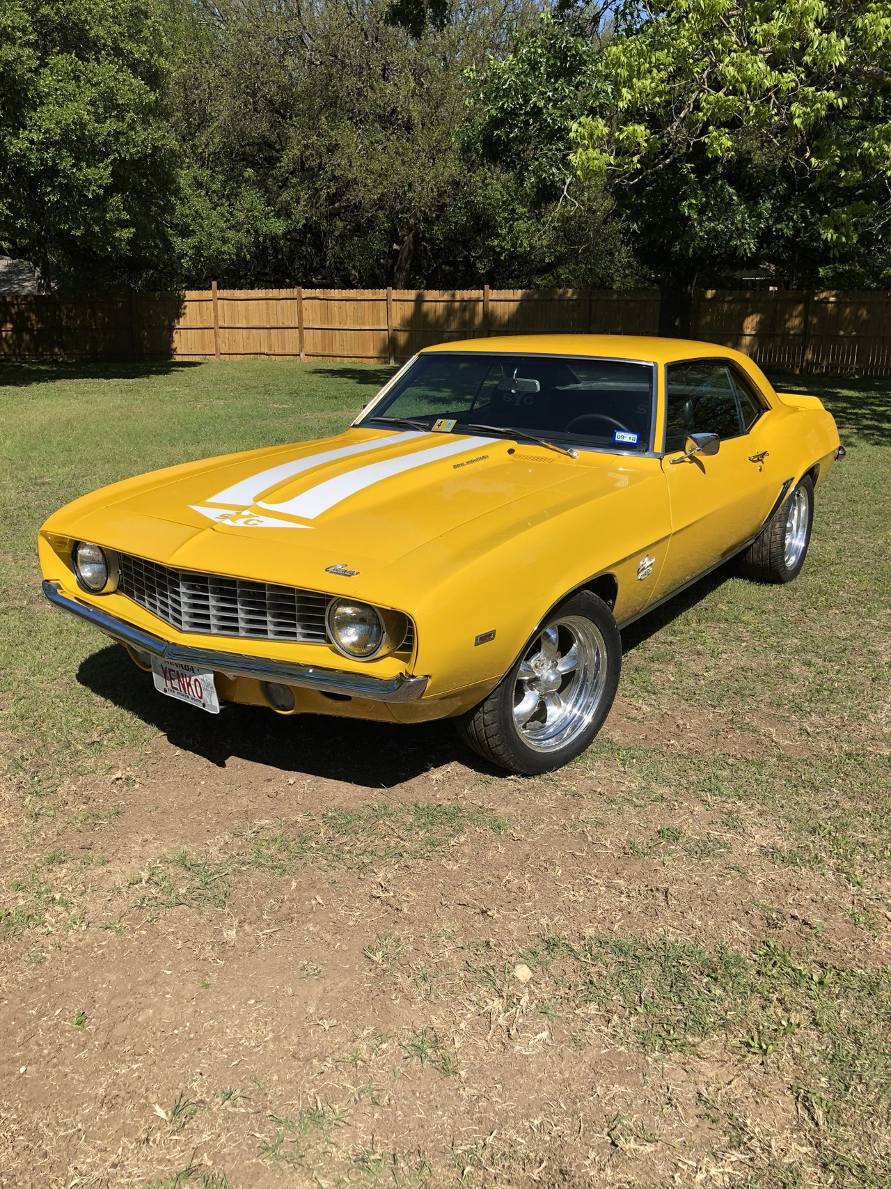 1st Image of a 1969 CHEVROLET CAMARO YENKO TRIBUTE