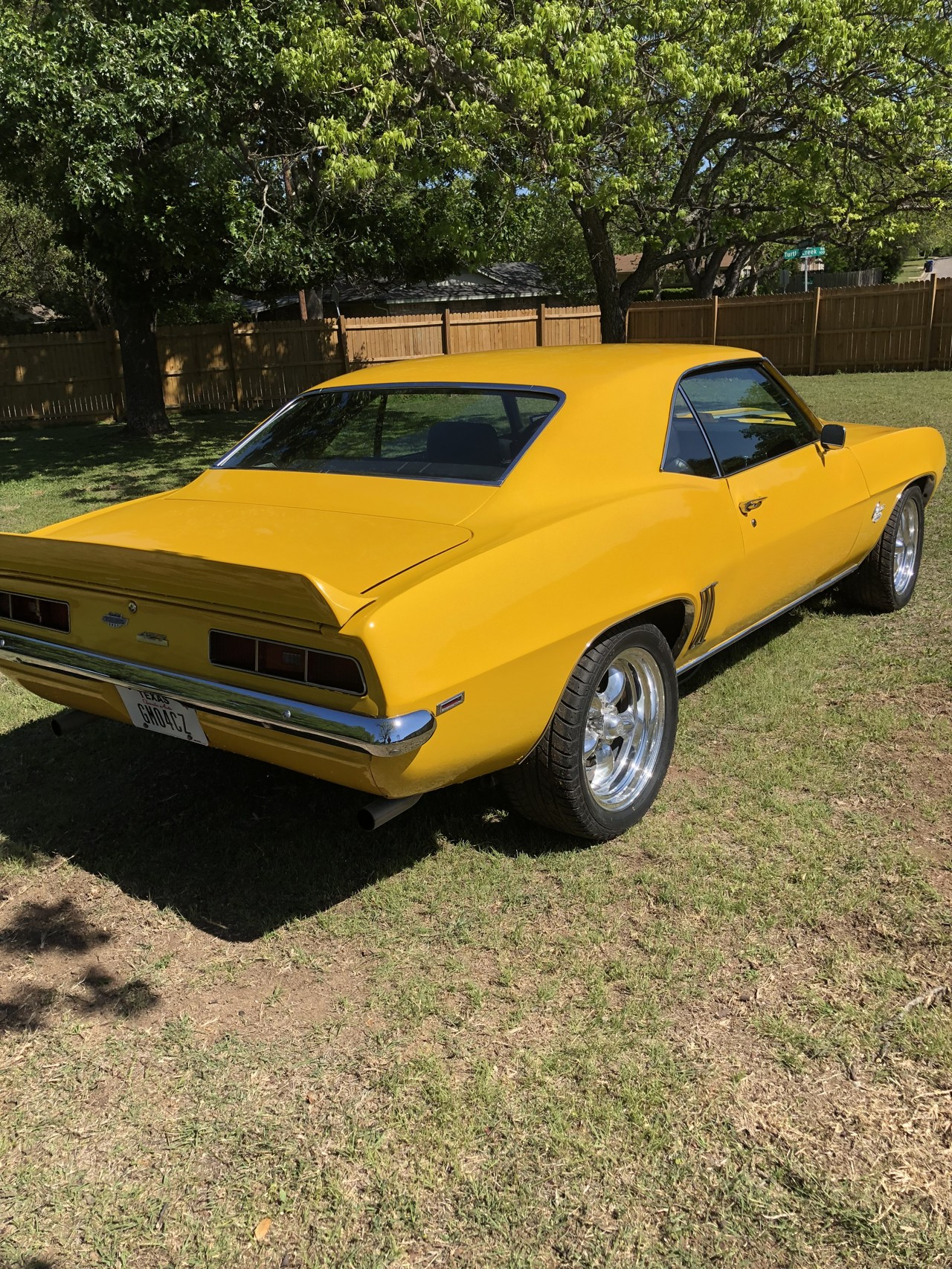 4th Image of a 1969 CHEVROLET CAMARO YENKO TRIBUTE