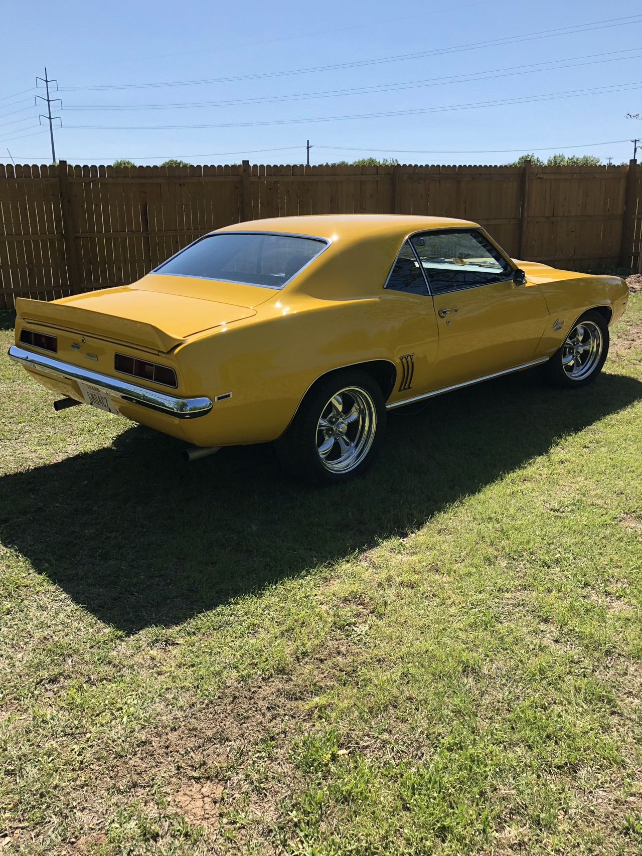 6th Image of a 1969 CHEVROLET CAMARO YENKO TRIBUTE