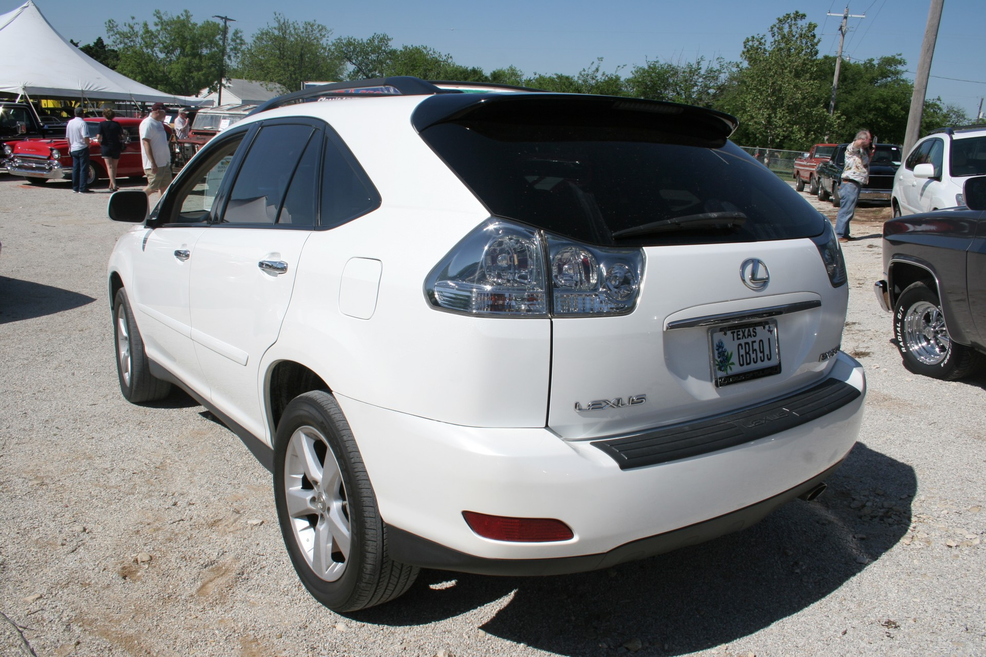 3rd Image of a 2008 LEXUS RX350 SUV
