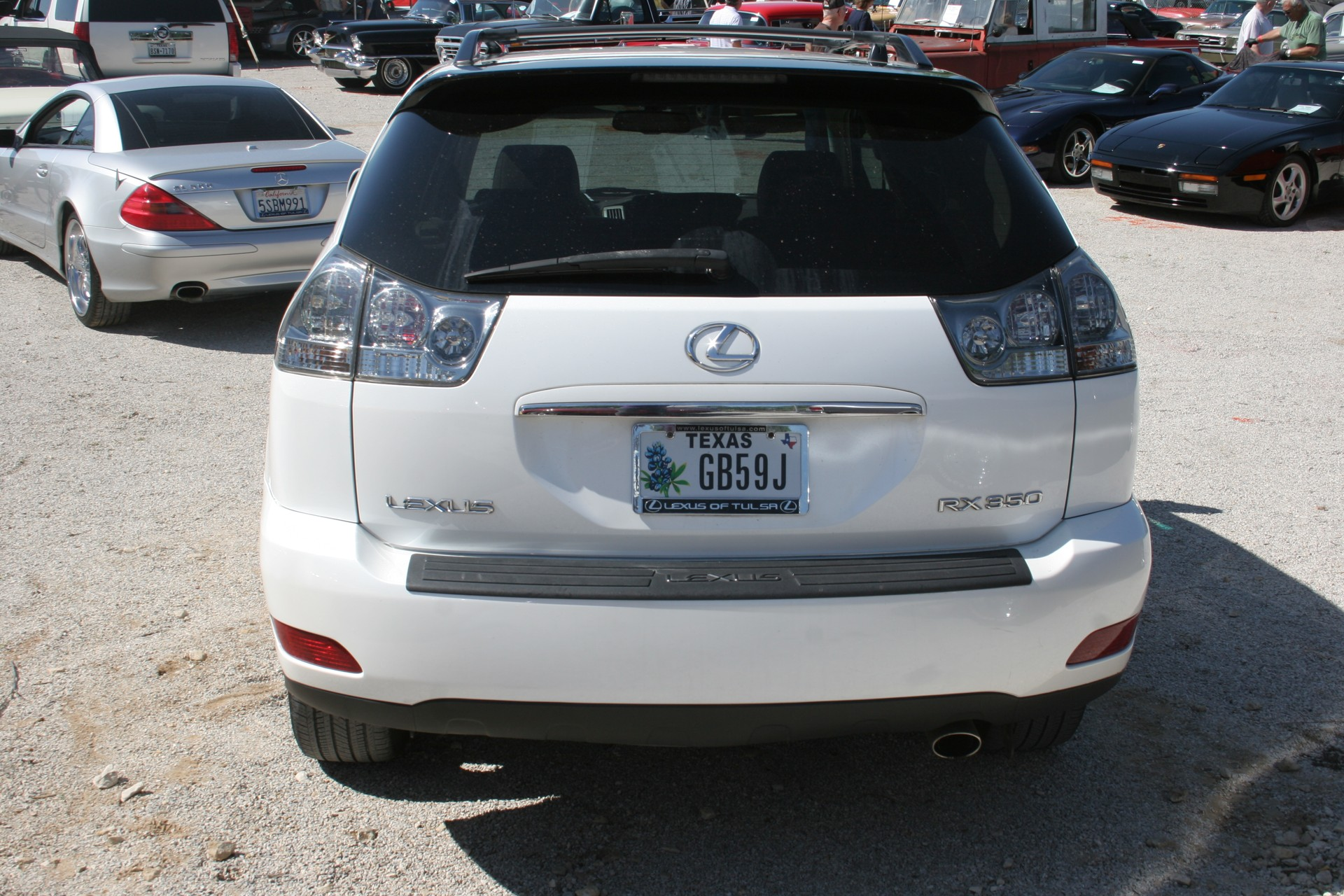 4th Image of a 2008 LEXUS RX350 SUV