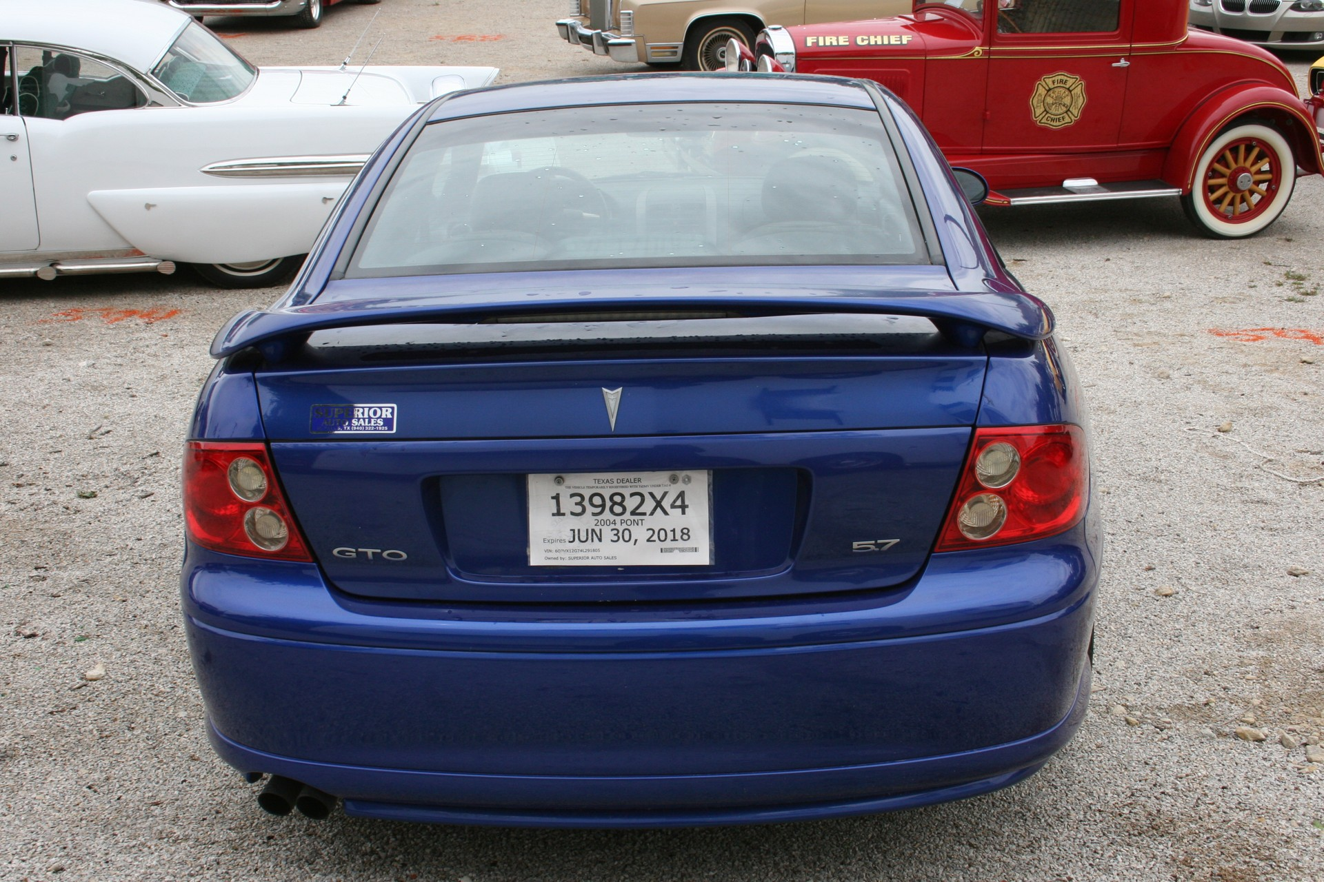 5th Image of a 2004 PONTIAC GTO