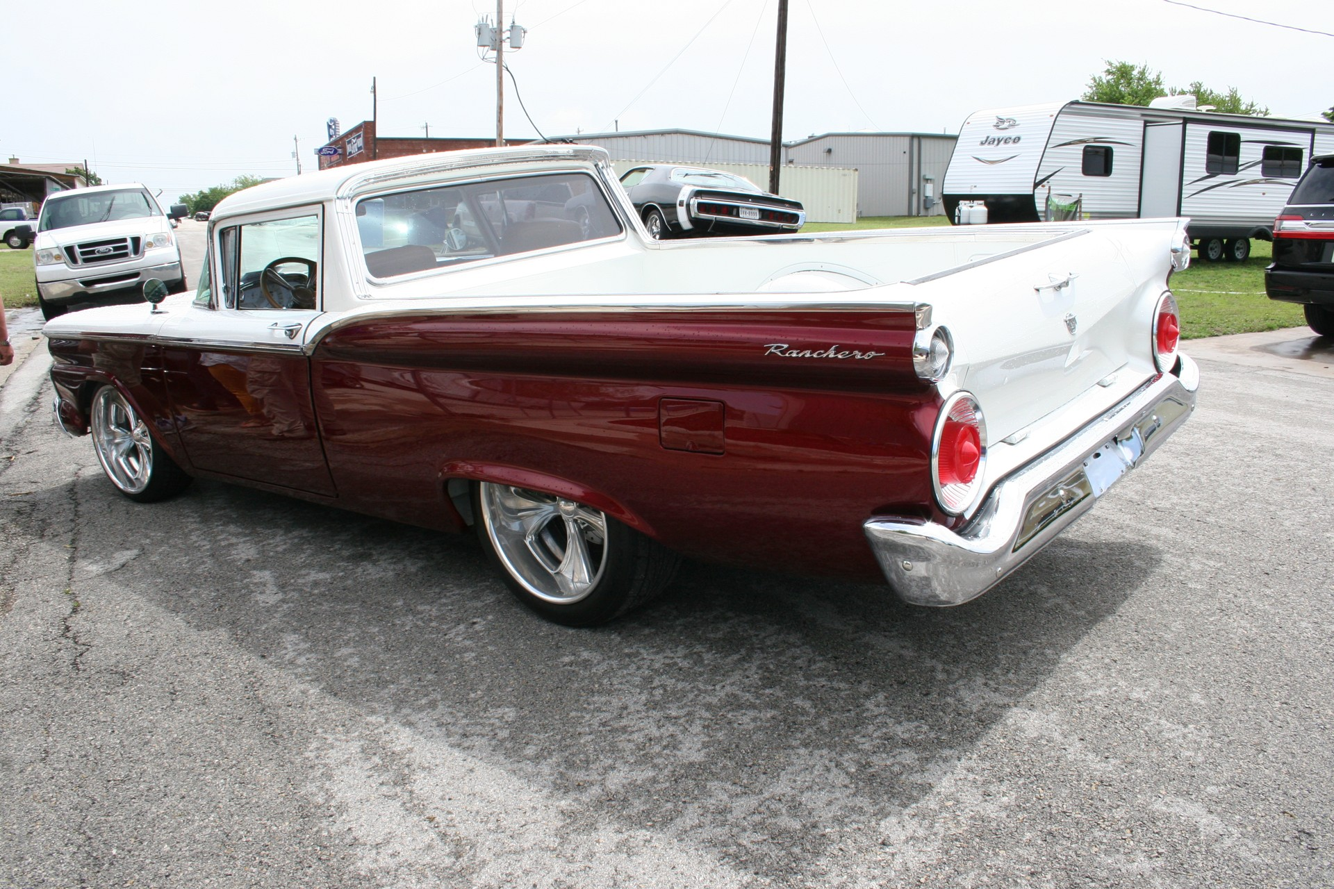 6th Image of a 1959 FORD RANCHERO JACK ROUSH POWERED