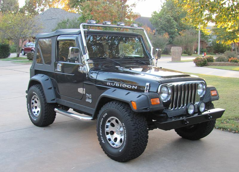 2nd Image of a 2005 JEEP WRANGLER RUBICON
