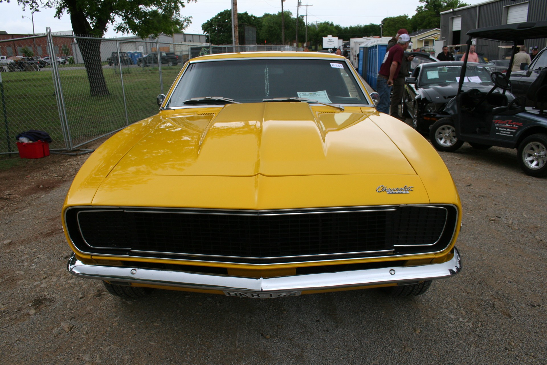 2nd Image of a 1967 CHEVROLET CAMARO RALLY SPORT