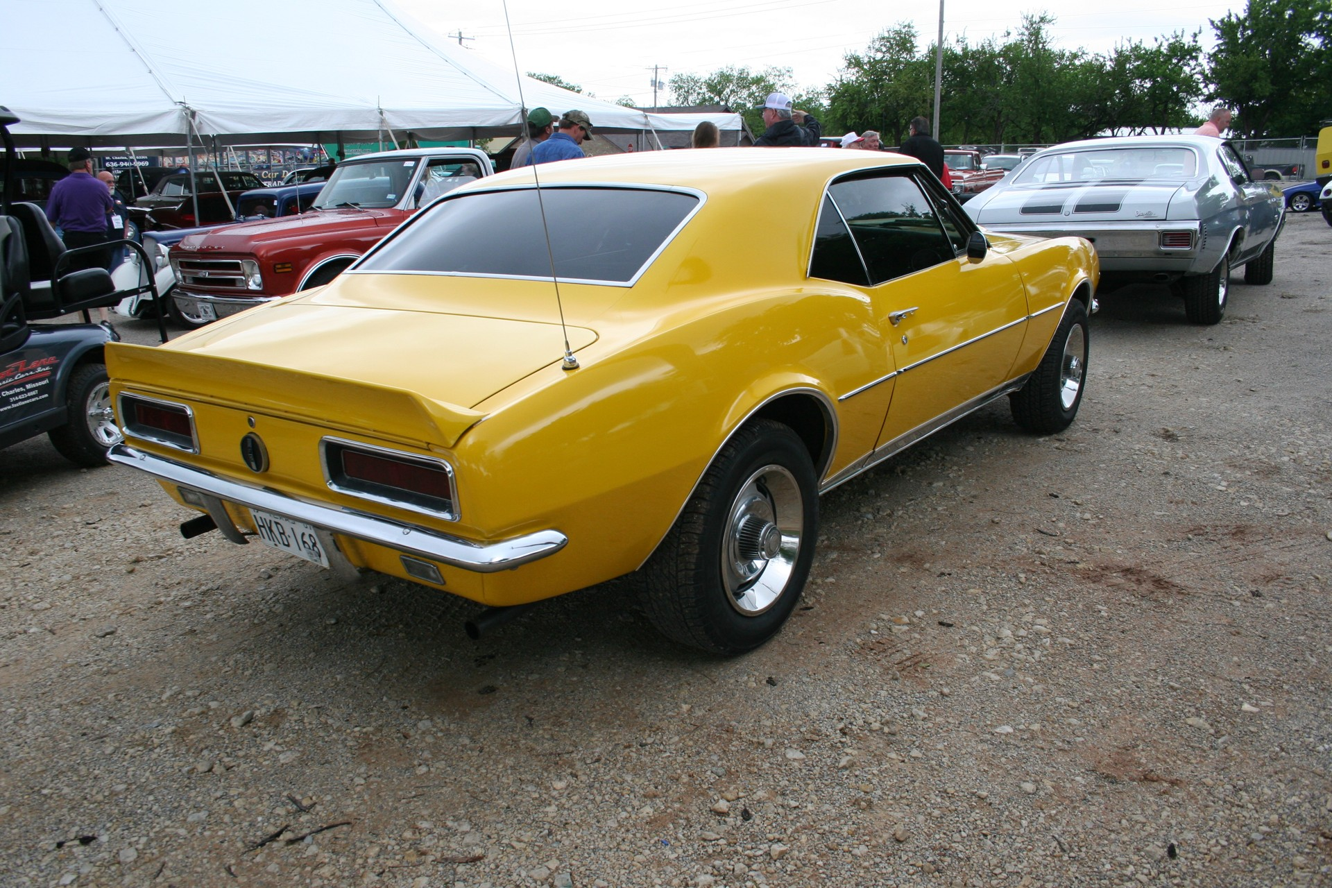 4th Image of a 1967 CHEVROLET CAMARO RALLY SPORT