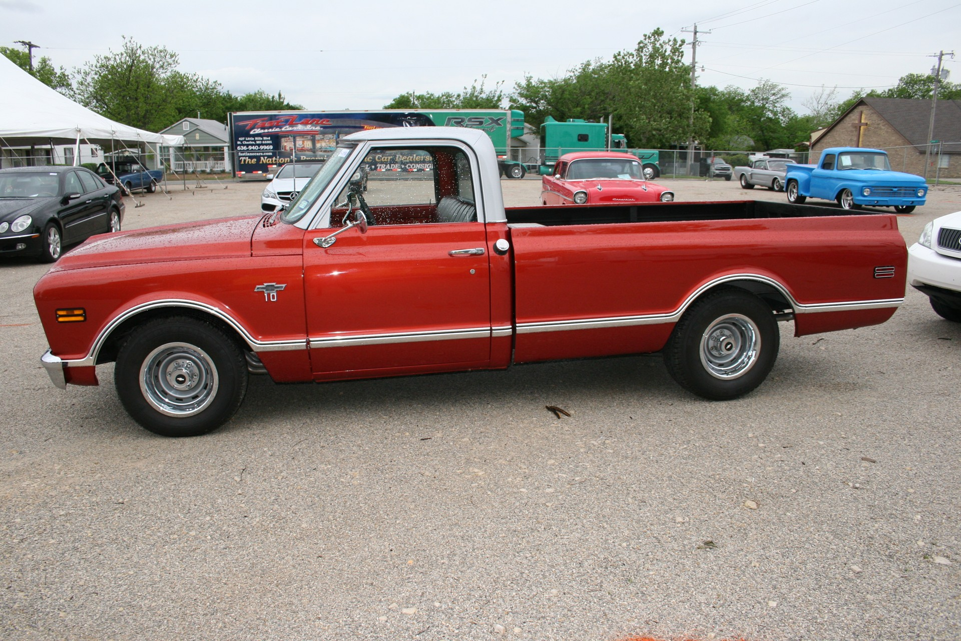 3rd Image of a 1968 CHEVROLET C10