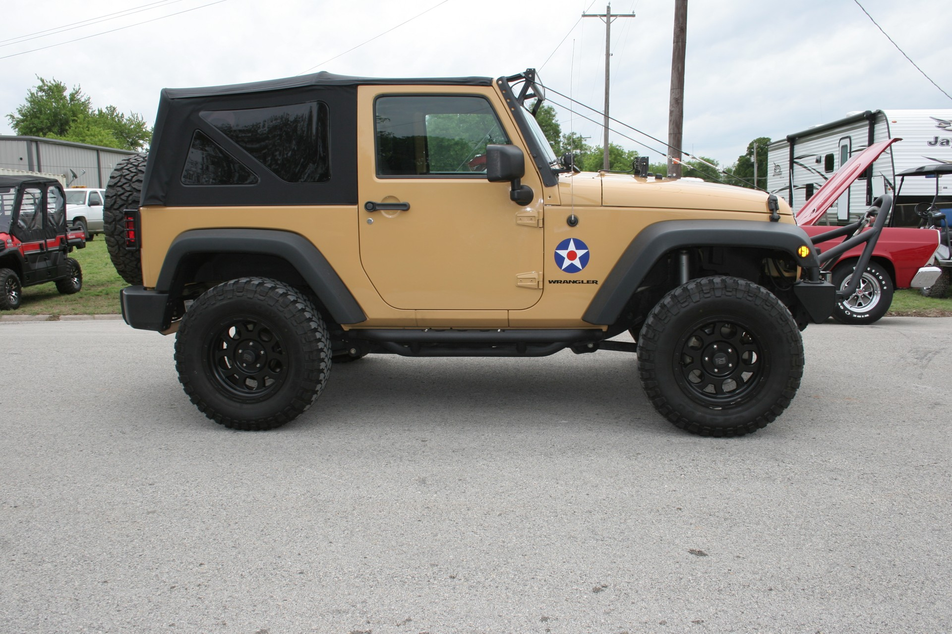 3rd Image of a 2013 JEEP WRANGLER SPORT