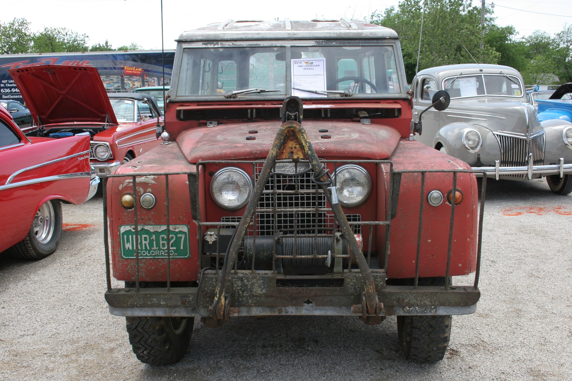 2nd Image of a 1966 LANDROVER SERIES2