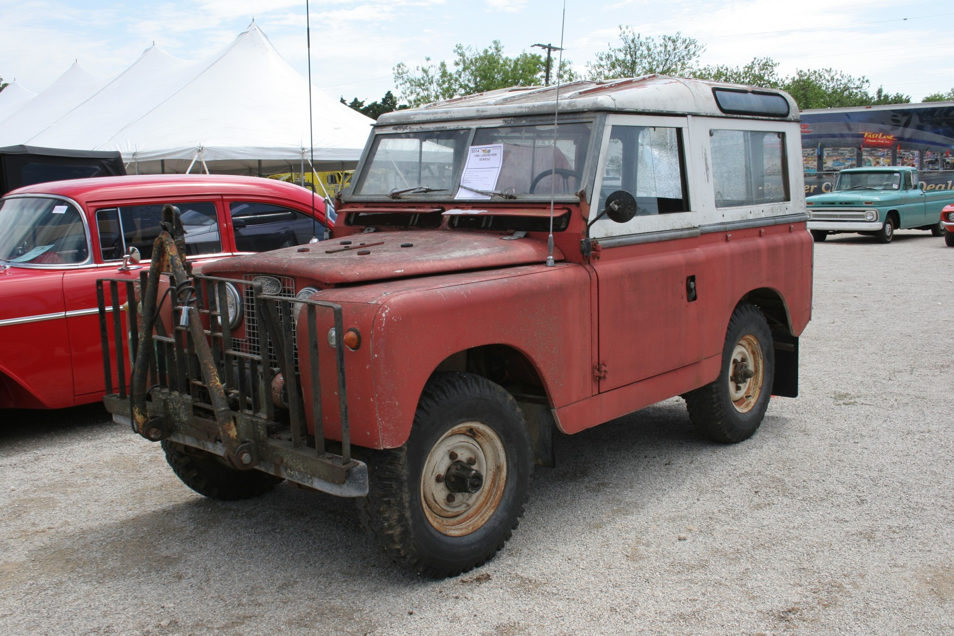 3rd Image of a 1966 LANDROVER SERIES2
