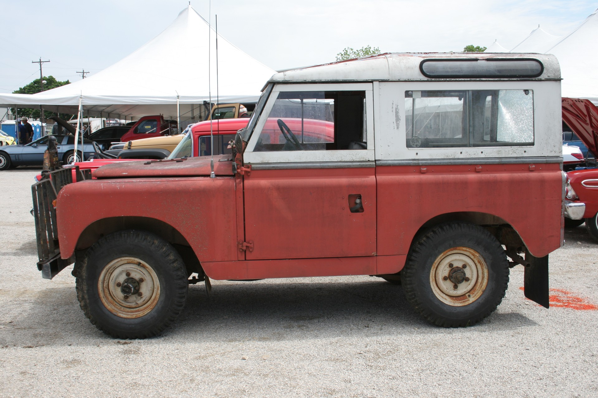 4th Image of a 1966 LANDROVER SERIES2