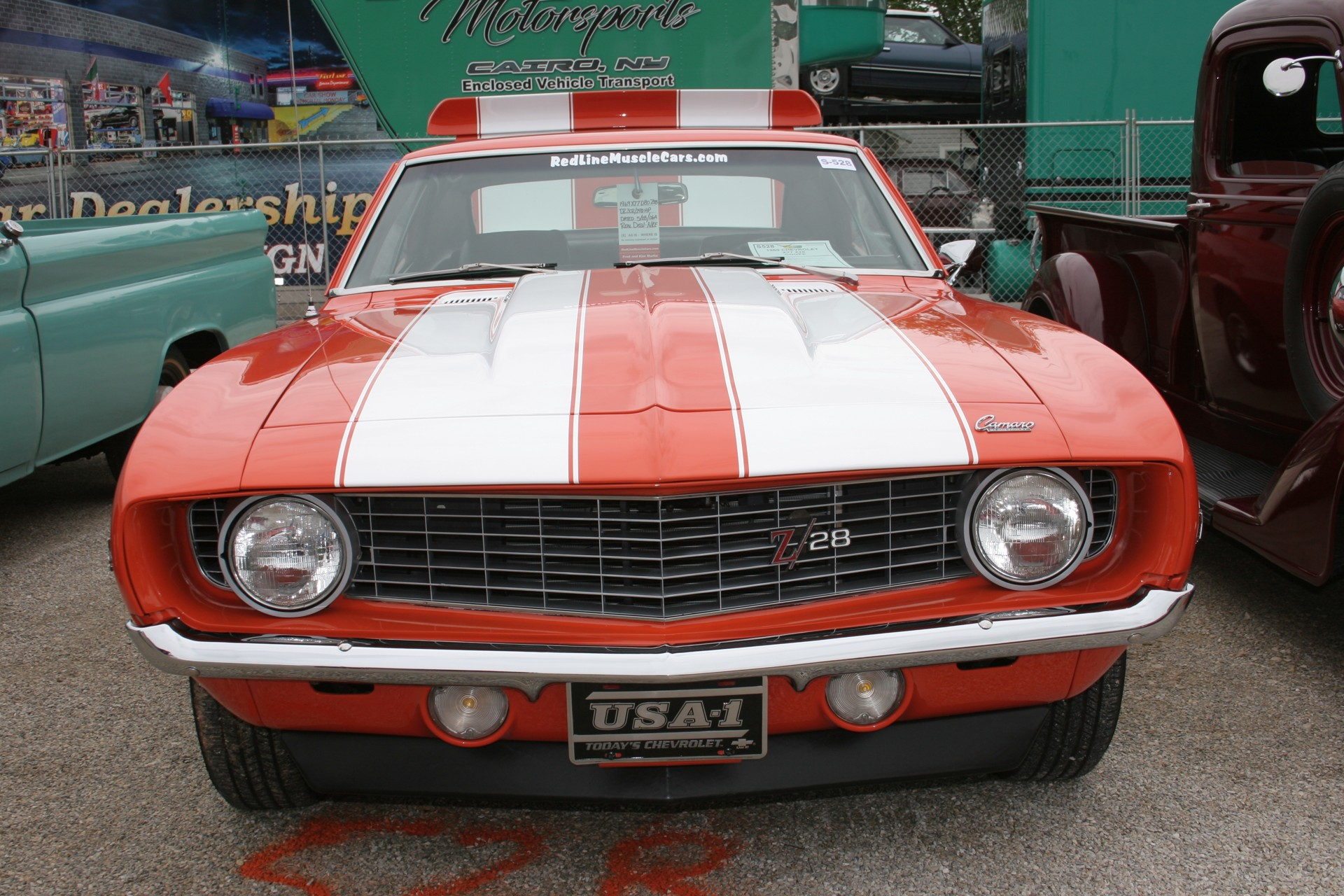 3rd Image of a 1969 CHEVROLET X77 Z28