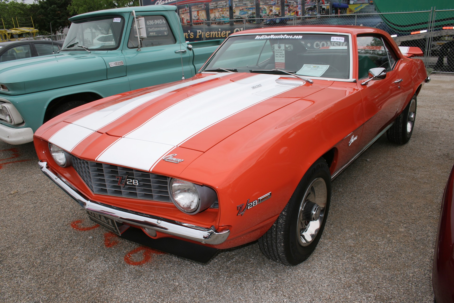 4th Image of a 1969 CHEVROLET X77 Z28