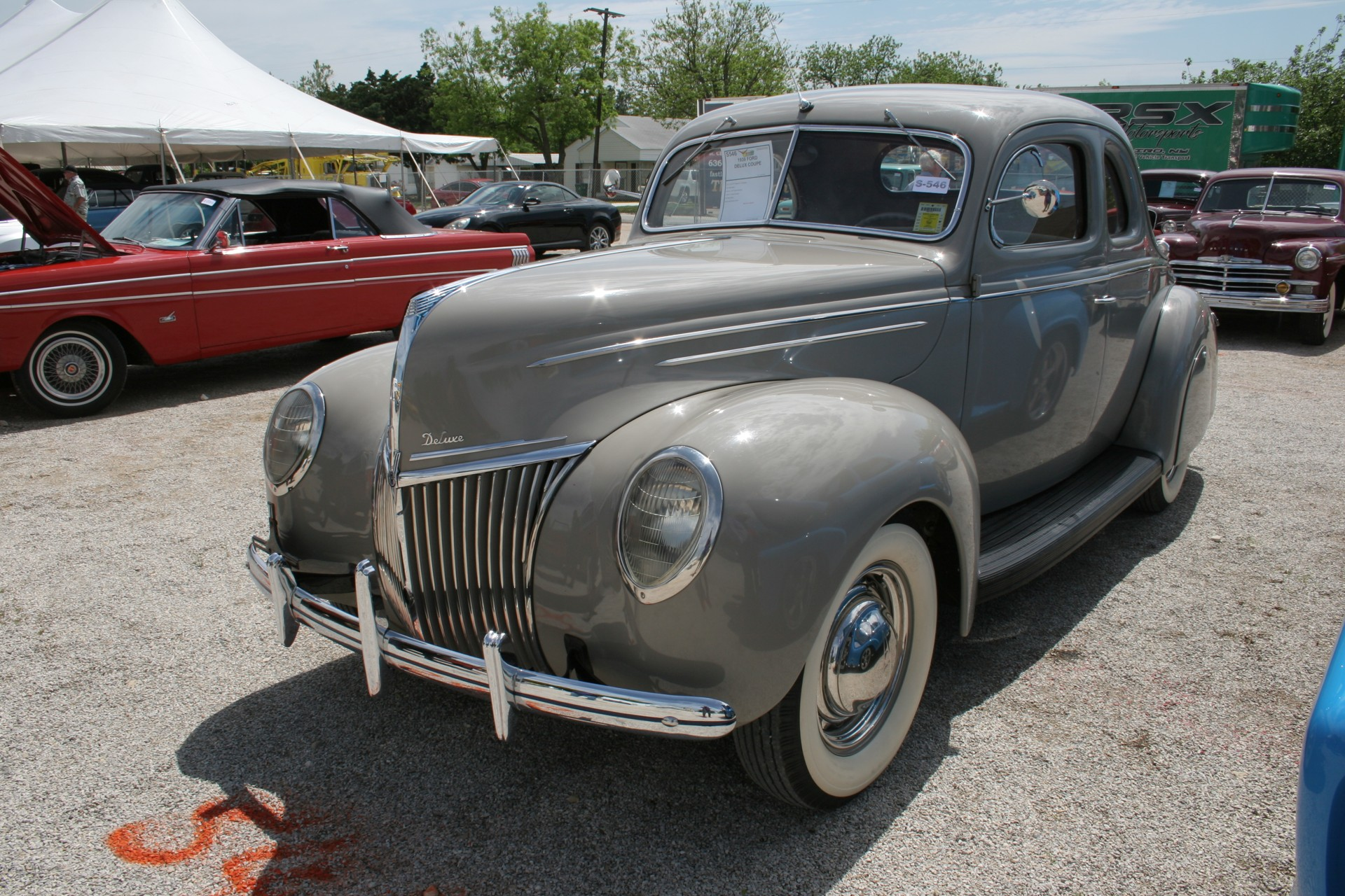 2nd Image of a 1939 FORD DELUX COUPE