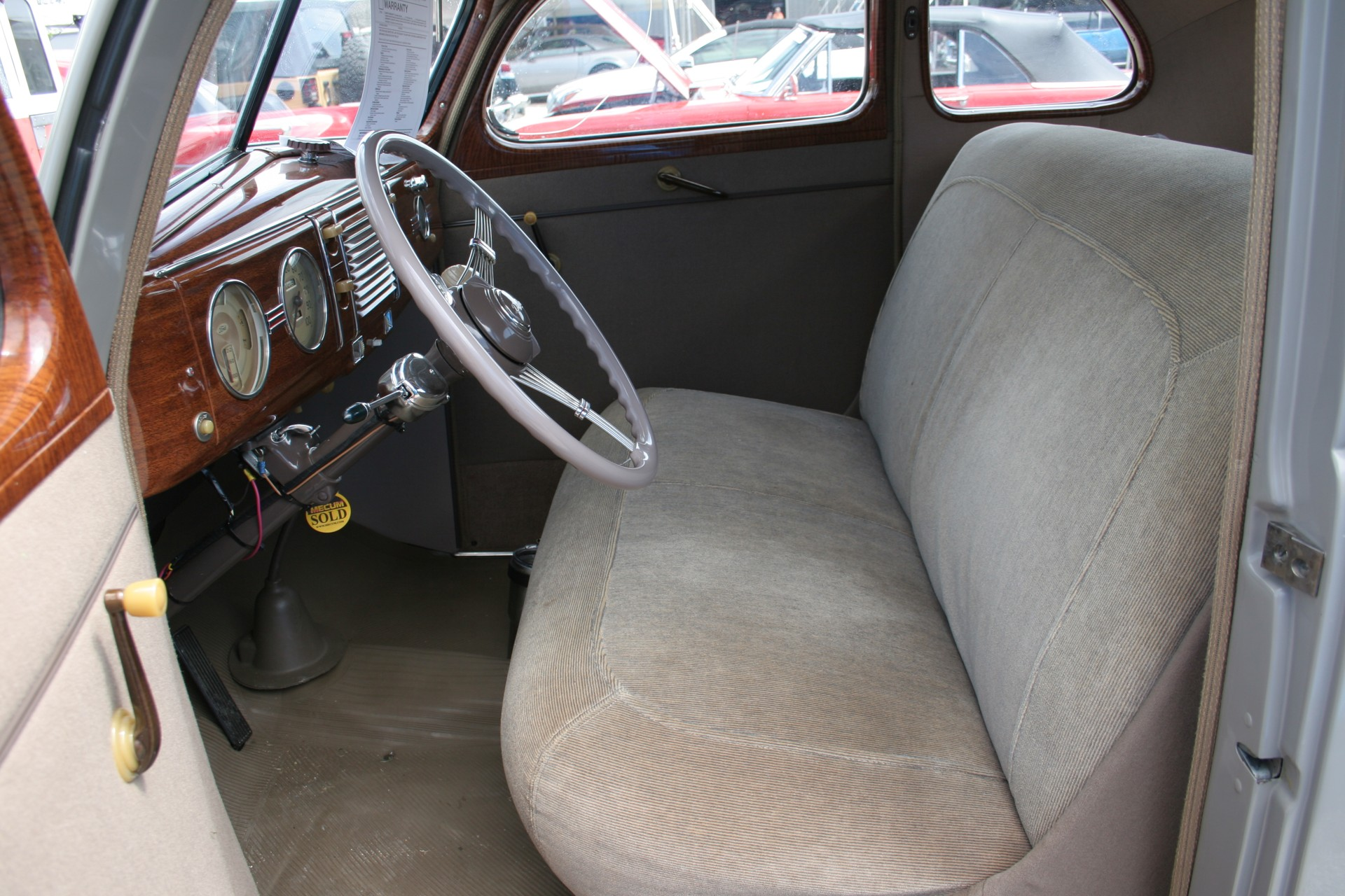 7th Image of a 1939 FORD DELUX COUPE