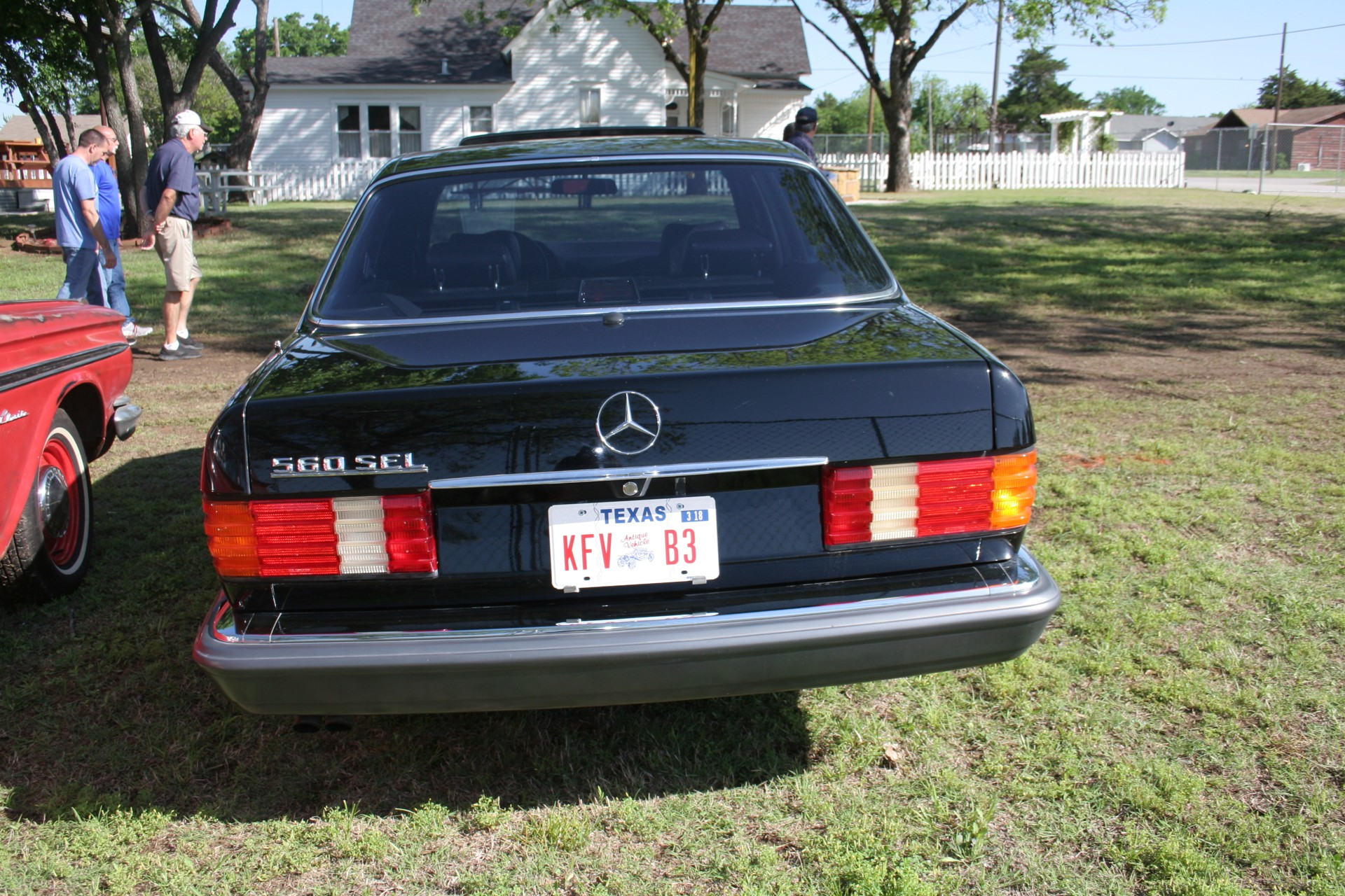 5th Image of a 1990 MERCEDES-BENZ 560 560SEL