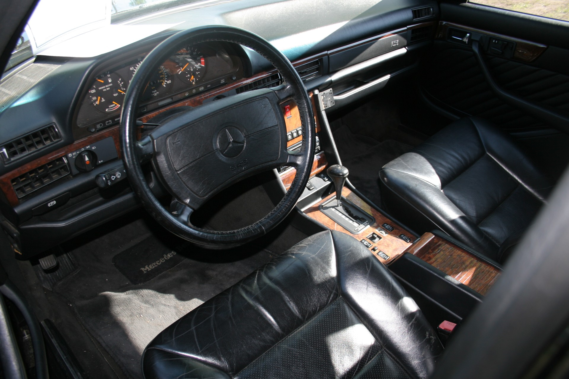 6th Image of a 1990 MERCEDES-BENZ 560 560SEL
