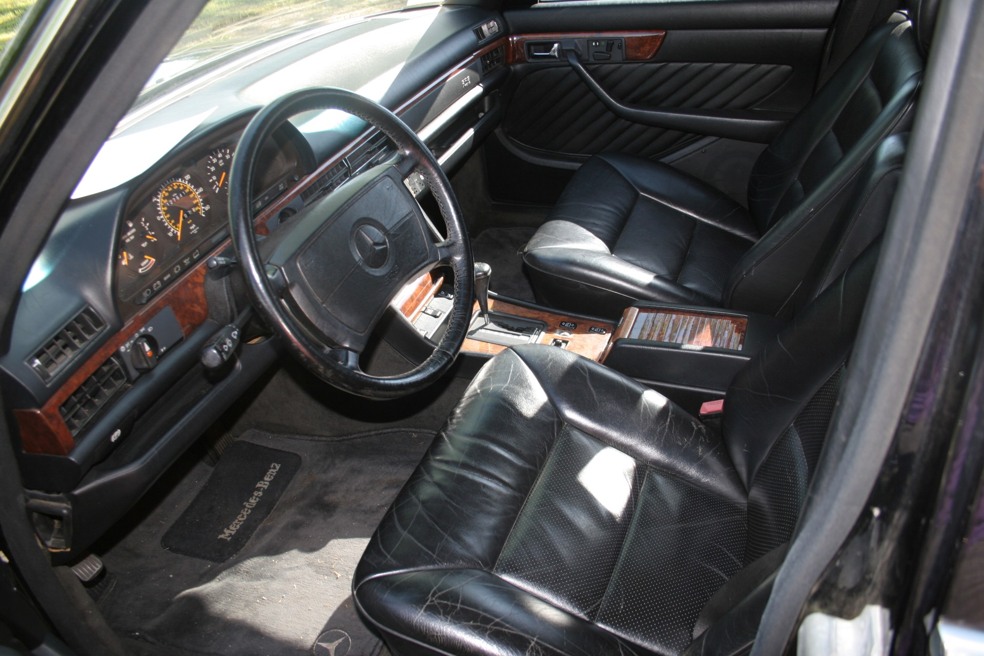 7th Image of a 1990 MERCEDES-BENZ 560 560SEL