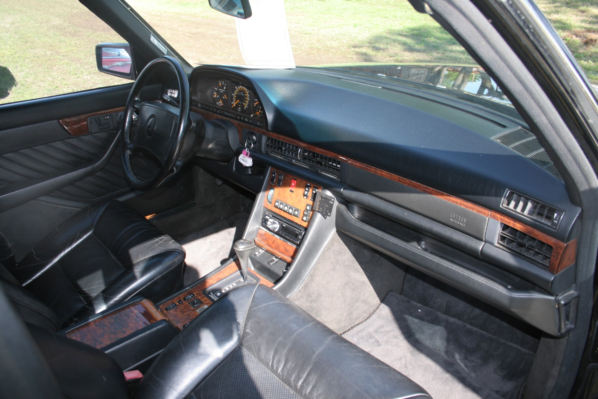 9th Image of a 1990 MERCEDES-BENZ 560 560SEL