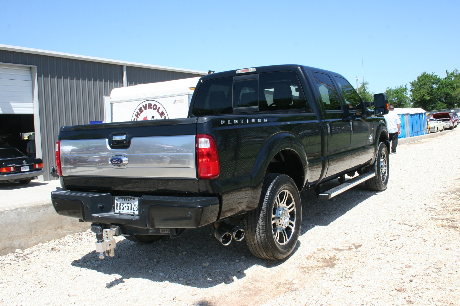 4th Image of a 2013 FORD F-250 SUPER DUTY
