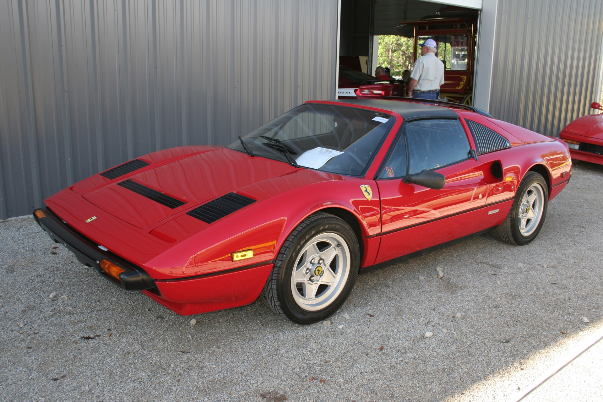 2nd Image of a 1983 FERRARI 308 GTS USA QUATTROVALVOLE