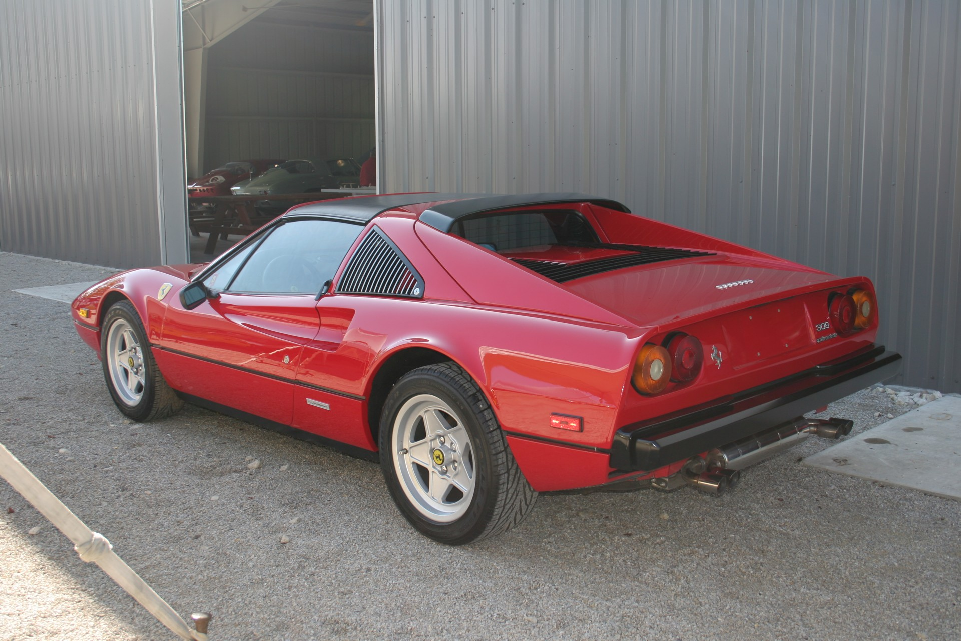 4th Image of a 1983 FERRARI 308 GTS USA QUATTROVALVOLE