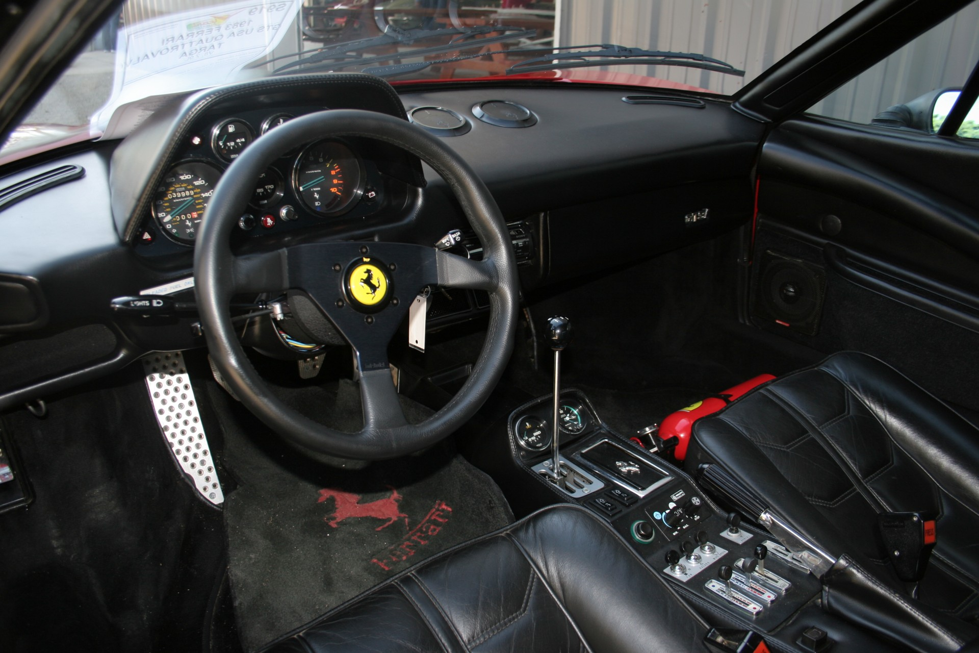 6th Image of a 1983 FERRARI 308 GTS USA QUATTROVALVOLE