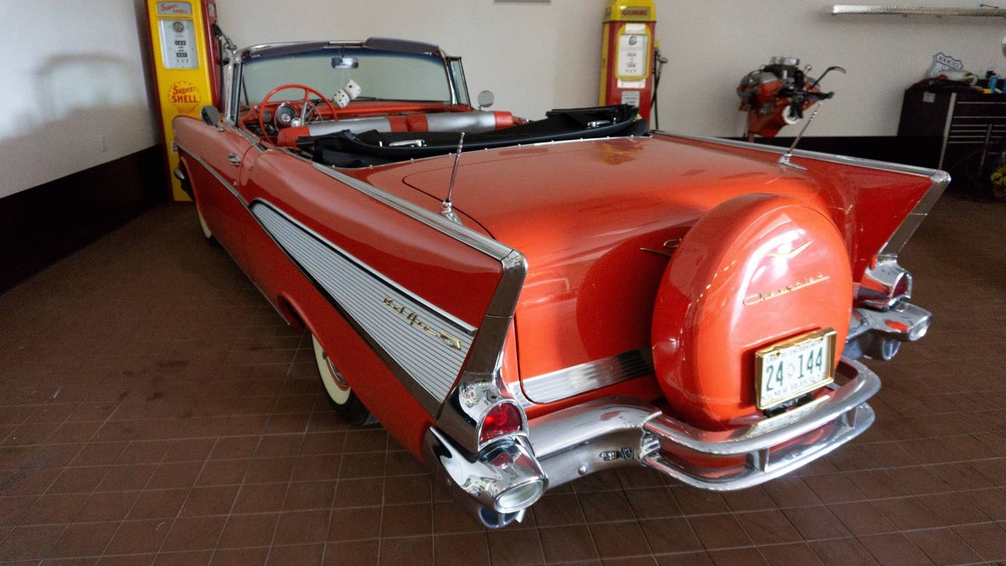 4th Image of a 1957 CHEVROLET BEL AIR