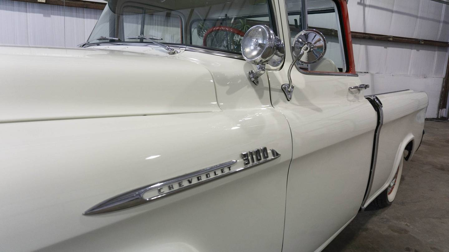 4th Image of a 1955 CHEVROLET PICKUP