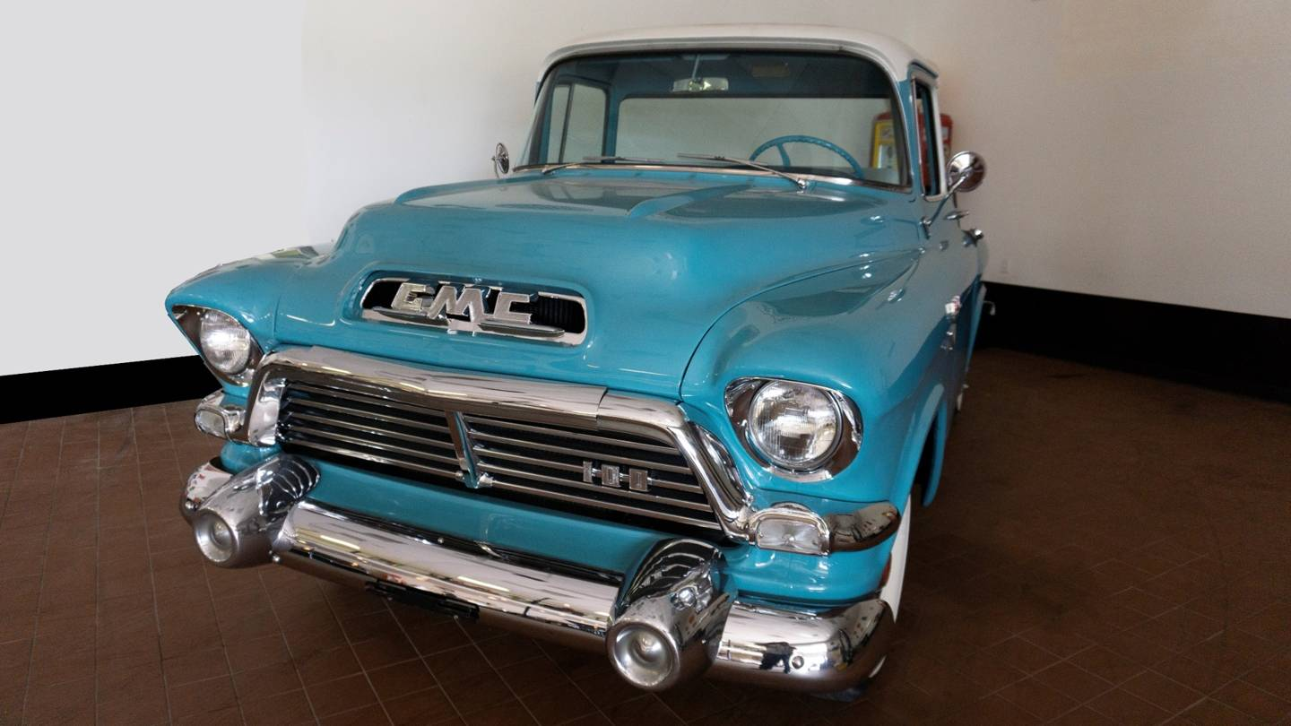 2nd Image of a 1957 GMC PICKUP