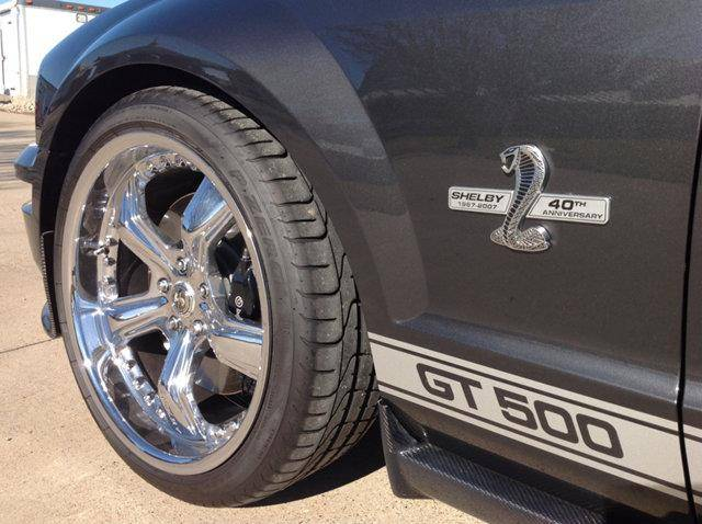 9th Image of a 2007 FORD MUSTANG SHELBY GT500