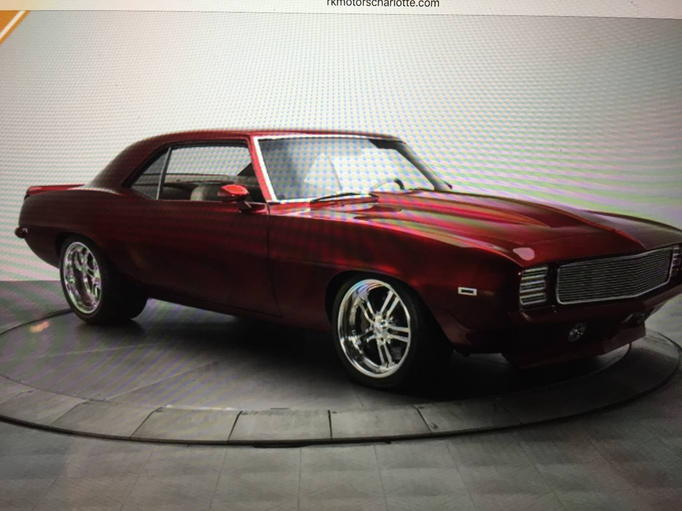 4th Image of a 1969 CHEVROLET CAMARO SS