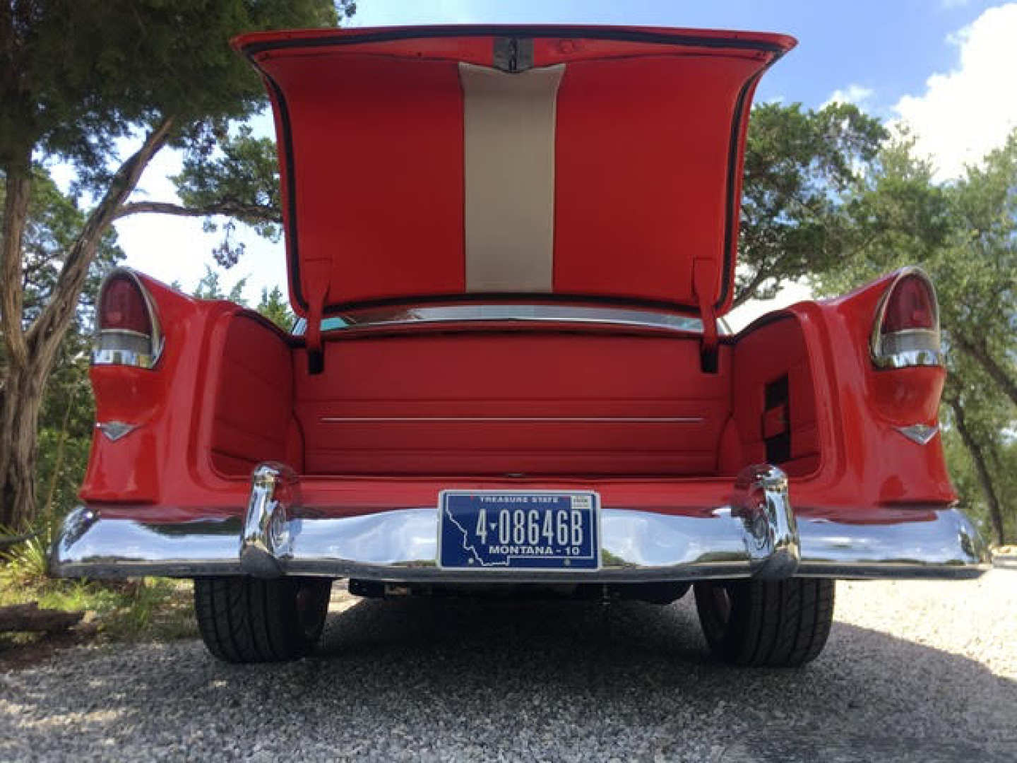3rd Image of a 1955 CHEVROLET BEL AIR