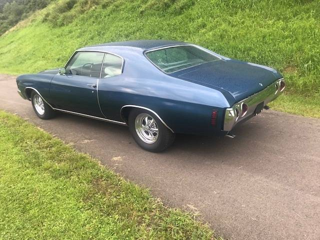 3rd Image of a 1972 CHEVROLET CHEVELLE