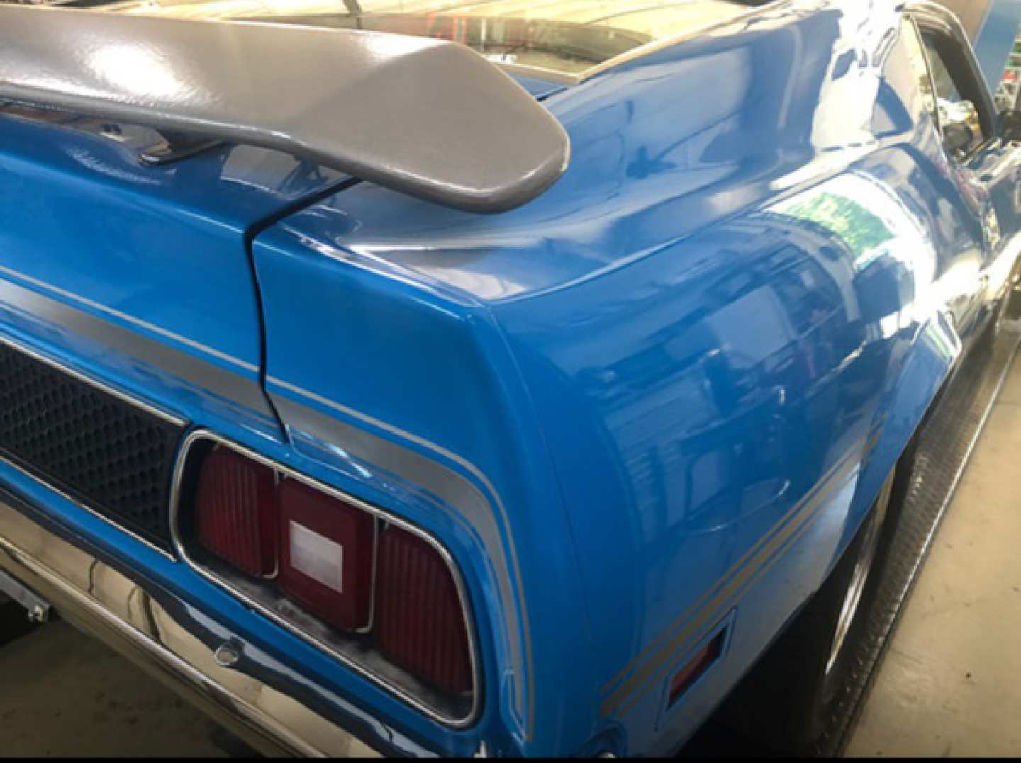2nd Image of a 1972 FORD MUSTANG MACH 1