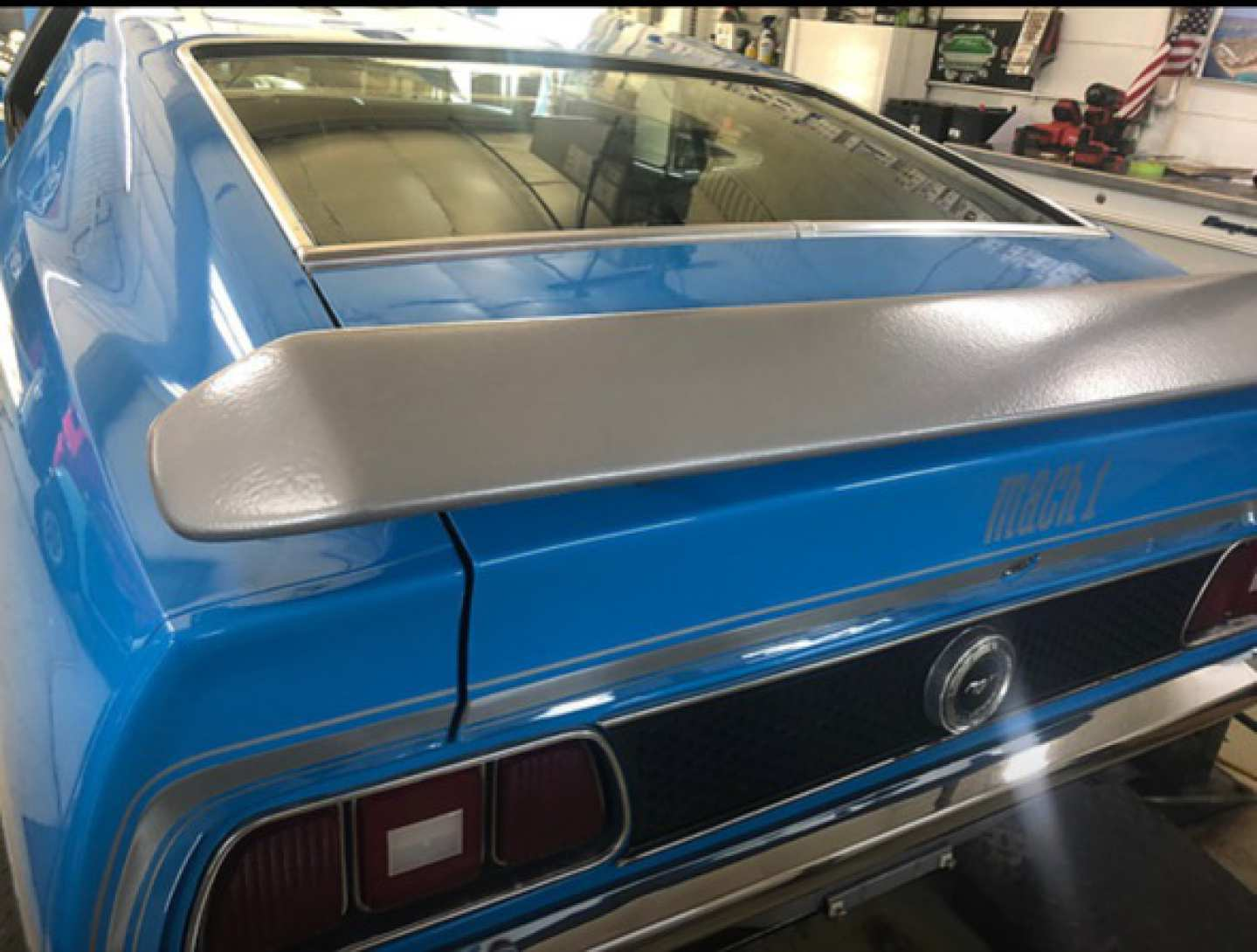 4th Image of a 1972 FORD MUSTANG MACH 1
