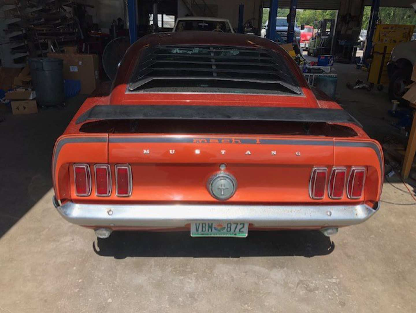 4th Image of a 1969 FORD MUSTANG COBRA JET