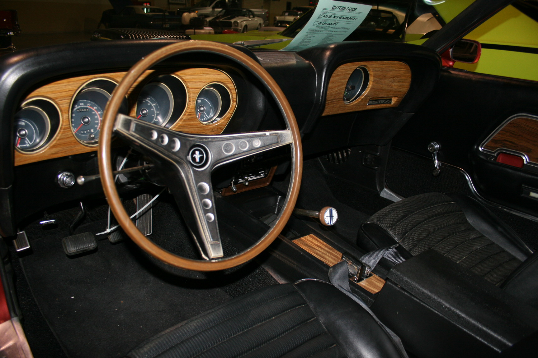 4th Image of a 1969 FORD MUSTANG