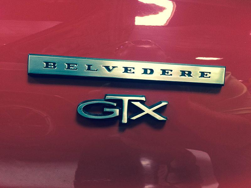 4th Image of a 1967 PLYMOUTH BELVEDERE GTX