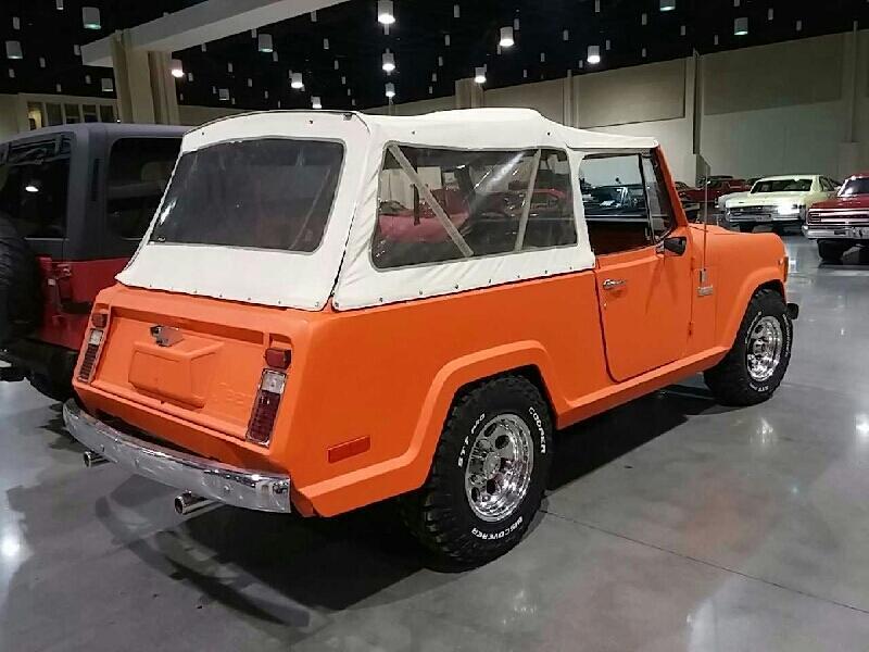 1972 JEEP COMMANDO 4X4 For Sale at Vicari Auctions Biloxi 2015